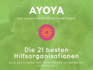 Ayoya-Spenden-Ratgeber